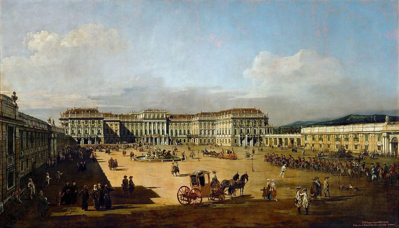 Maria Theresia baut Schloss Schönbrunn um