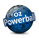 Logo der Lotterie OZ Powerball