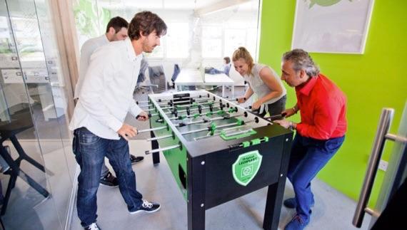 Millionen-Gewinner beim Tischfußball im Lottoland