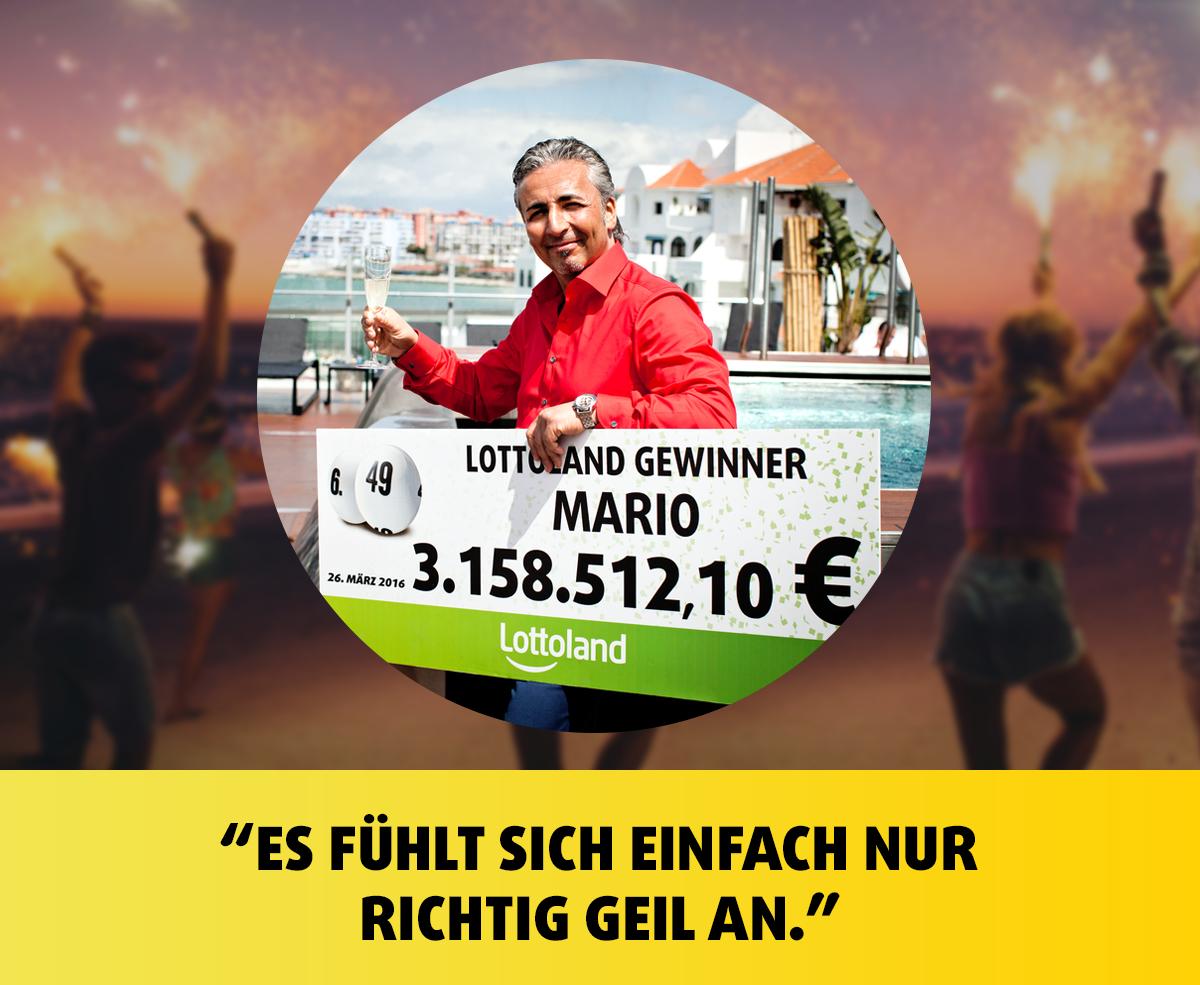 Lottoland Gewinner Mario