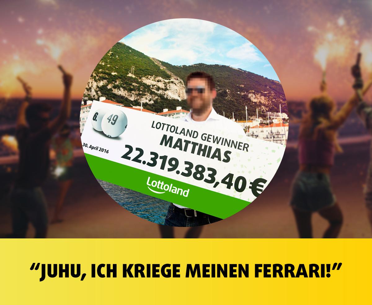 Lottoland-Rekordhalter Matthias