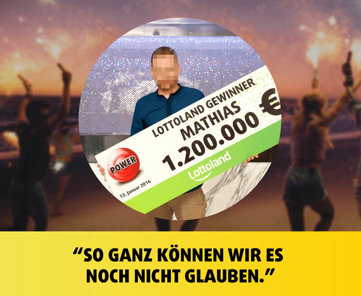 PowerBall Gewinner Mathias