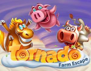 Tornado Farm Escape – jetzt spielen und Gewinne einbringen
