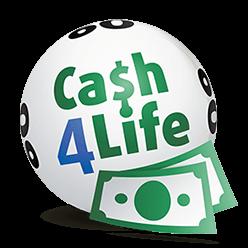 Logo der Lotterie Cash4Life