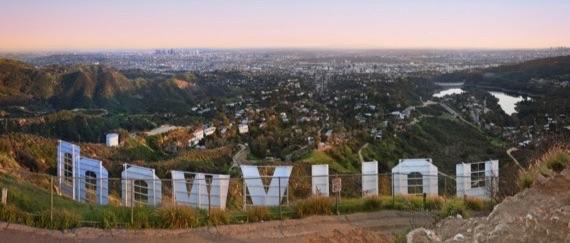Blick auf Los Angeles