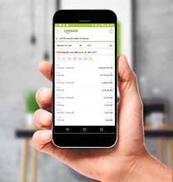 Erhalte die Ziehungsergebnisse direkt auf deinem Smartphone