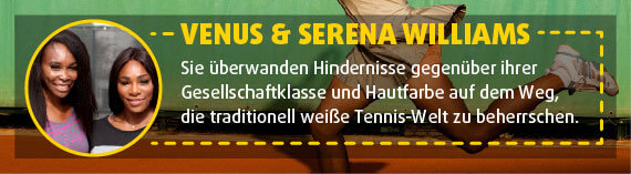 Venus & Serena Williams: Tennis-Spielerinnen