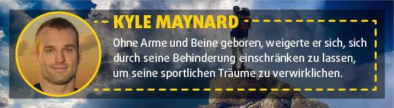 Kyle Maynard: Wrestler
