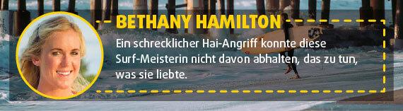 Bethany Hamilton: Surferin