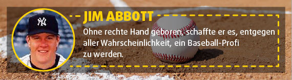 Jim Abbott: Baseball-Spieler