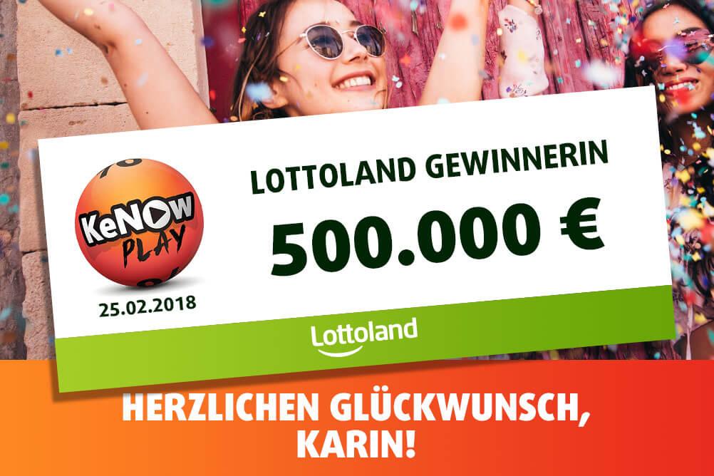 KeNow Play Gewinnerin Karin