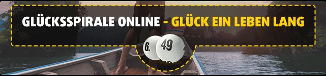 GlücksSpirale online - Glück ein Leben lang