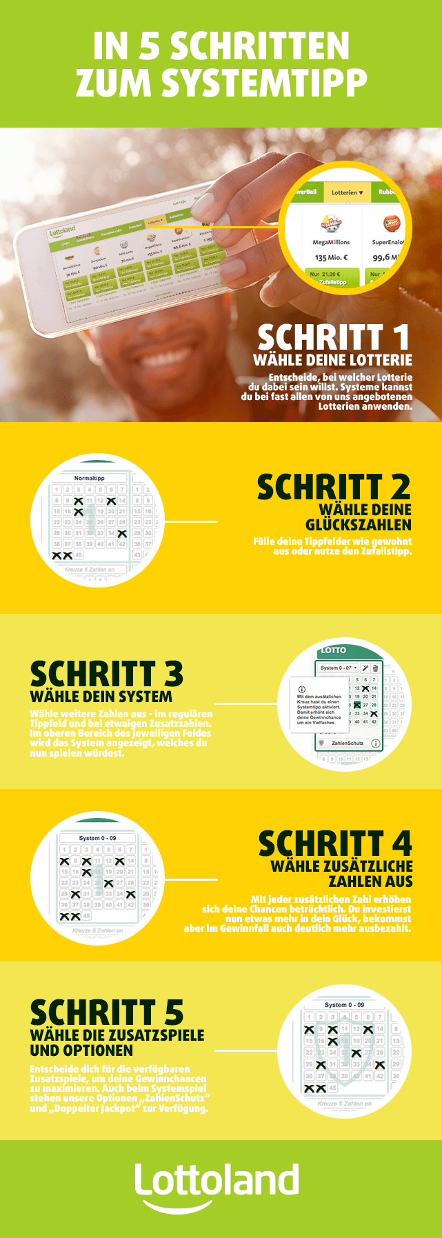 In 5 Schritten zum Systemtipp