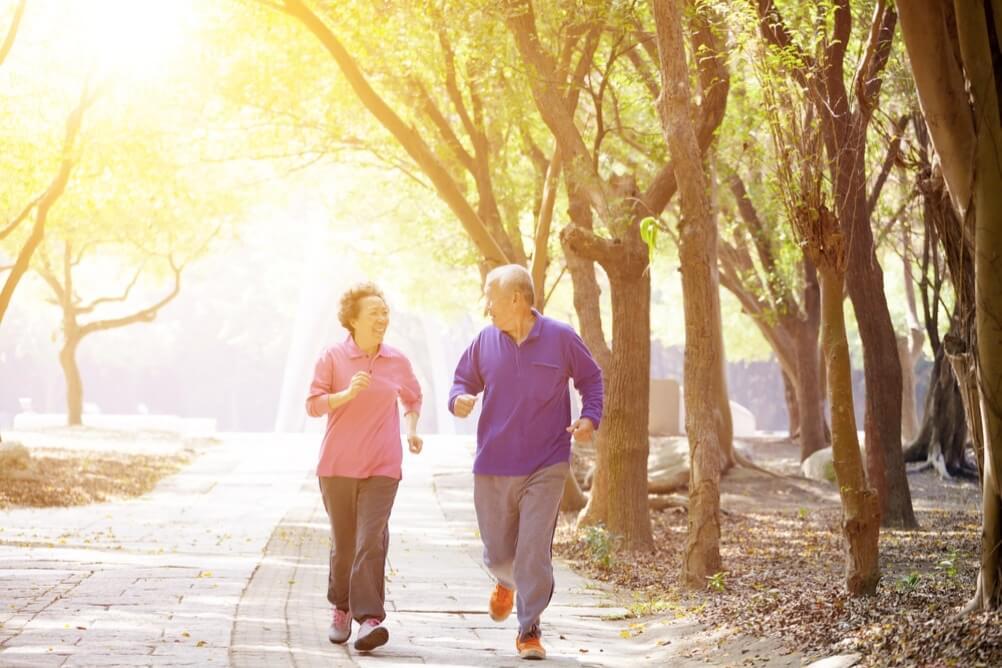 Sport treiben, um fit zu bleiben