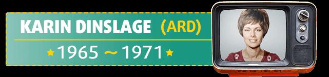 Karin Dinslage war die erste Lottofee und moderierte die Lottoziehung von 1965 bis 1971
