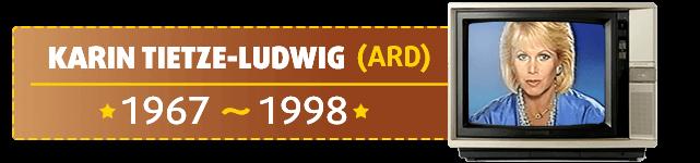 Karin Tietze-Ludwig ist die bekannteste Lottofee und moderierte die Lottoziehung von 1967 bis 1998