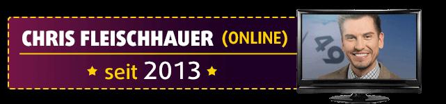 Chris Fleischhauer ist die erste männliche Lottofee und moderiert die Lottoziehung im Internet seit 2013