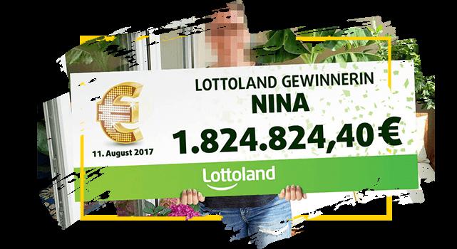 Lottoland Gewinnerin Nina - EuroJackpot