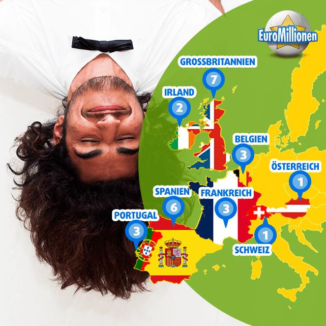 Wer hat den EuroMillions Superpot wo gewonnen?